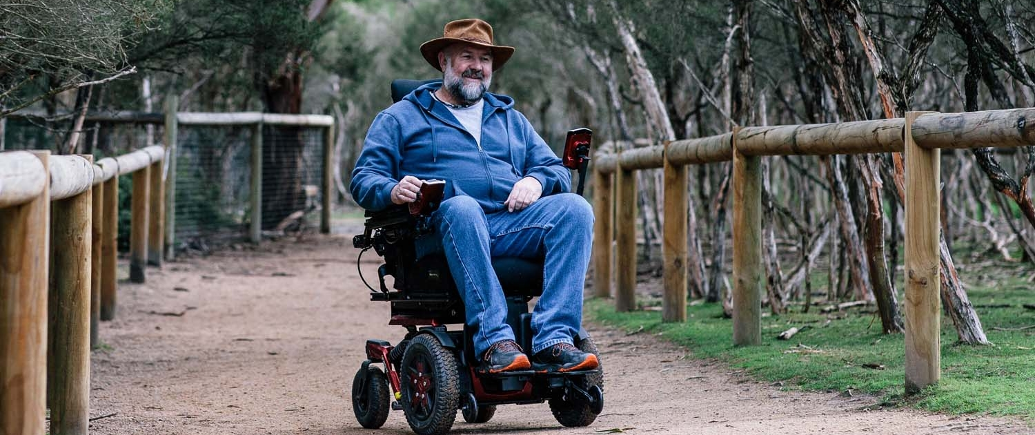 Accessible access for wheelchairs at Moonlit Sanctuary Wildlife Park