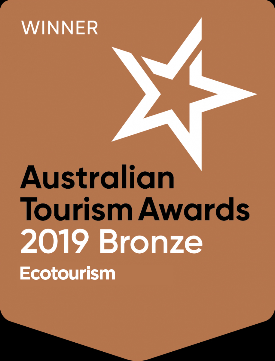 2019 Australian Tourism Awards - Bronze - Ecotourism